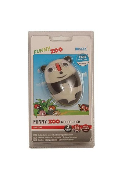Volk Funny Zoo Mouse (Panda) HC800PA