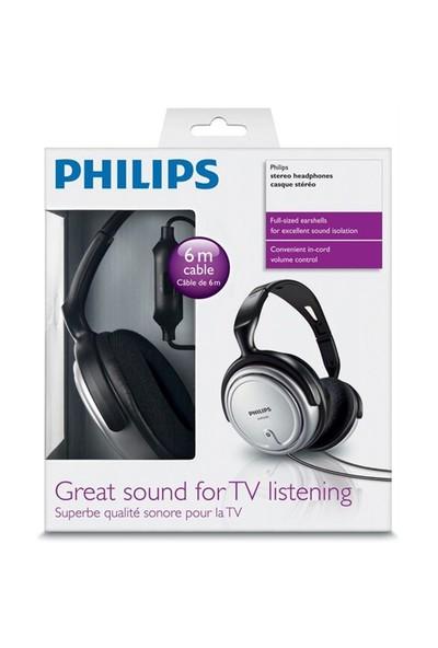 Philips SHP2500 Kulaküstü Kulaklık 6Mt Kablo ve Tv kulaklığı