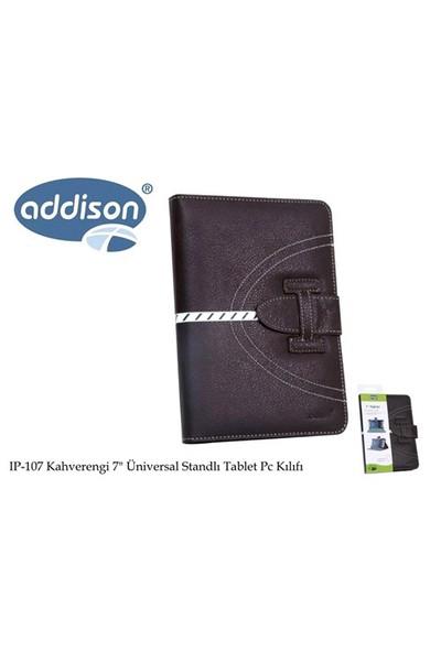 Addison Ip-107 Kahverengi 7` Üniversal Standlı Tablet Pc Kılıfı