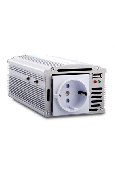 S-Link Sl-Inv2450 500W Dc24v-Ac230v Usb 2A İnverter