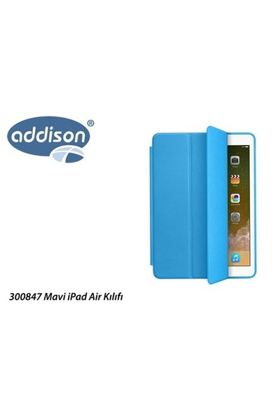 Addison 300847 Mavi İpad Air Kılıfı