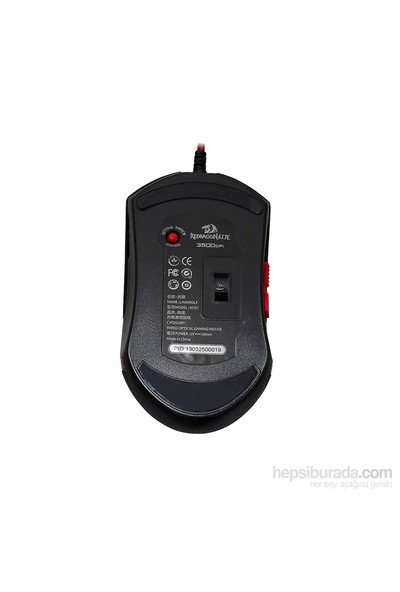 Redragon LAVAWOLF Kablolu Oyuncu Mouse 70236