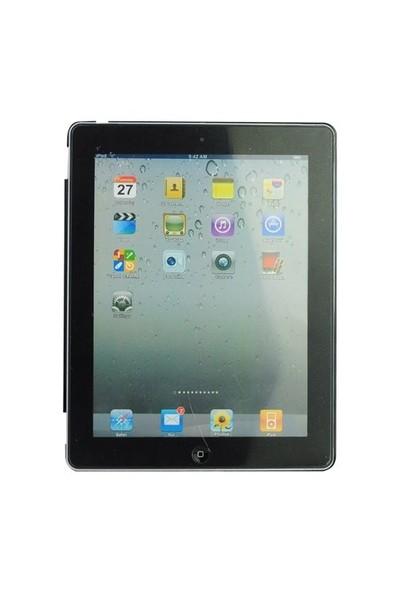 Romeca New iPad/iPad 2 Siyah Arka Kapak