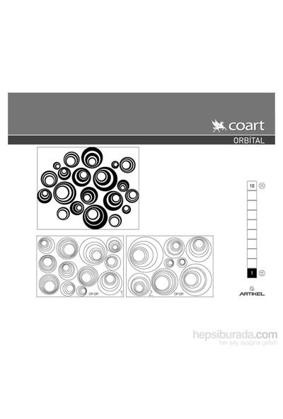Orbital Kadife Duvar Sticker 20 Adet