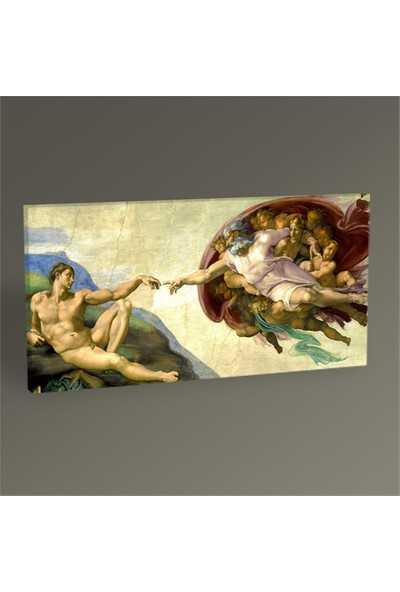 Tablo 360 Michelangelo The Creation Of Adam-Tablo 80X40