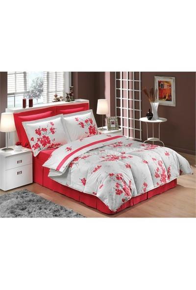 Soley Amour Kırmızı Tek Kişilik Uyku Seti