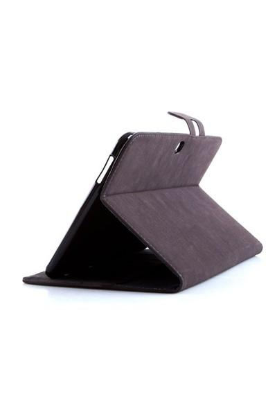 """Addison Smg-Tab3-04 10.1"""" Koyu Gri Samsung Galaxy Tab3 Tablet Pc Kılıfı"""