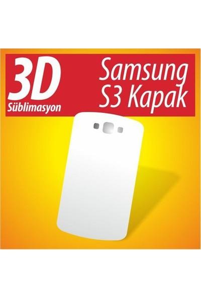 3D Süblimasyon Samsung S3 Kapak