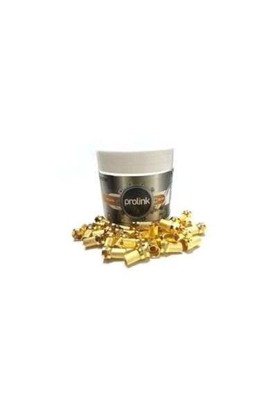Prolink Rg6 Altın F Konnektör Gold 100 Adet
