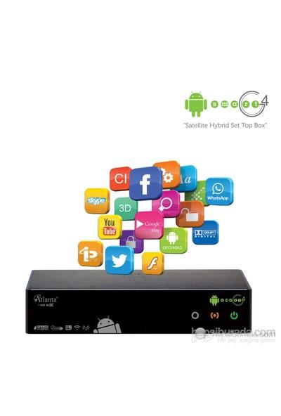 Atlanta Smart G4 Modül Girişli Full HD Uydu Alıcısı (Akıllı Kumanda + 8 GB SD Card Hediyeli)