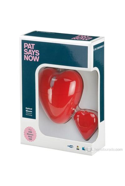Pat Says USB Optik Kalp Mouse 5515