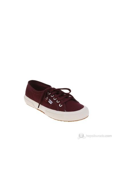 Superga 2750 Cotu Classic Dk Bordeaux Kadın Günlük Ayakkabı