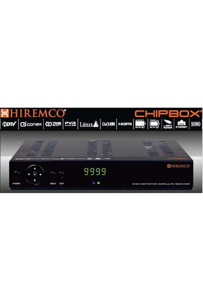 Hiremco ChipBox HD Dijital Uydu Alıcısı