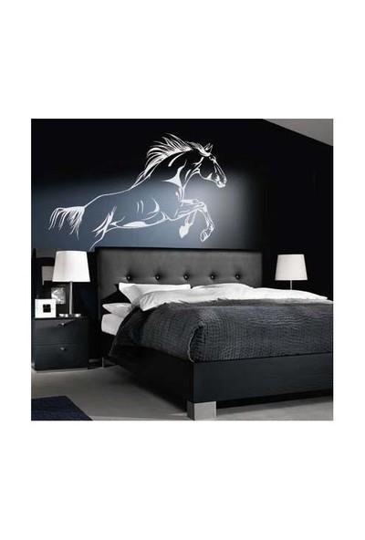 Birka Grafiti - Beyaz At