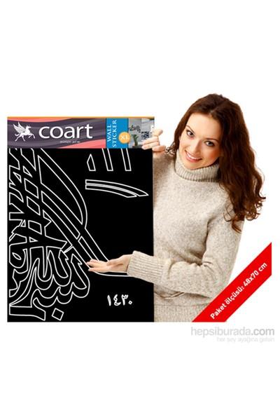 Artikel Besmele Kadife Duvar Sticker 2113 Adet Kristal Taşlı