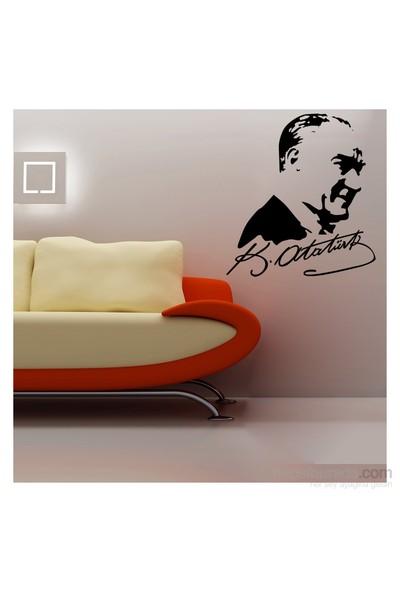 Artikel Atatürk-6 Kadife Duvar Sticker
