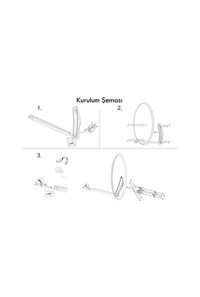 Sab Çanak Anten Beyaz 97Cm