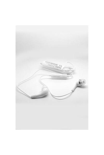 Inova Ysklk003 Inova Samsung Galaxy S4/S5/Note Vd. Uyumlu Mikrofonlu Kulaklık Beyaz Renk