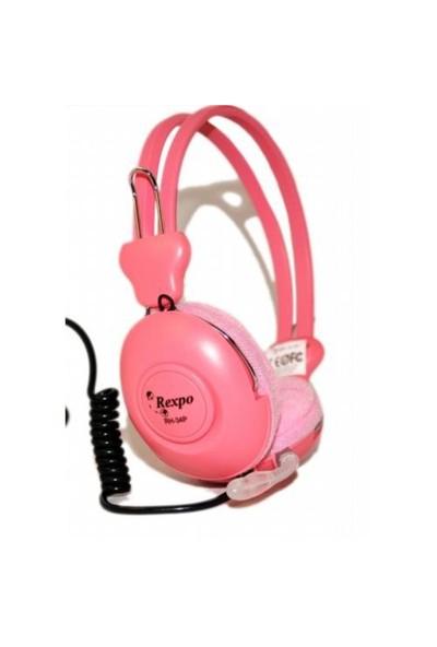 Rexpo RH-34P Mikrofonlu Kulaküstü Kulaklık