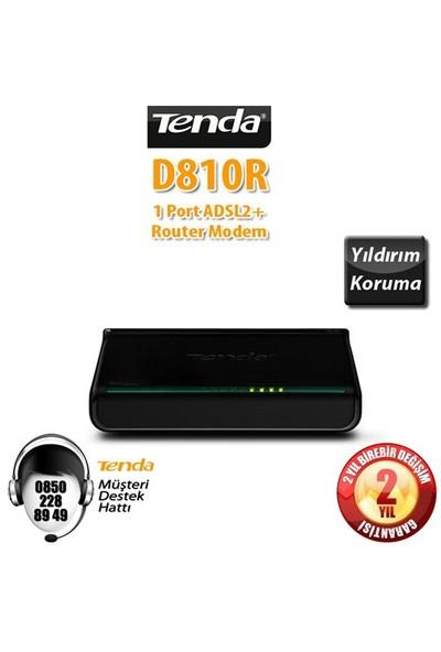 Tenda D810R ADSL2+ Modem Router 1 Port