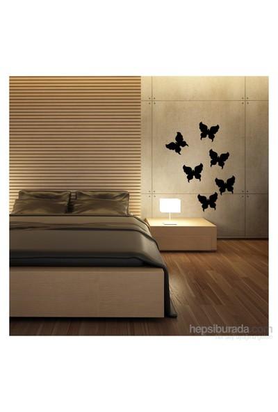 Artikel Kelebekler Kadife Duvar Sticker