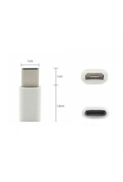Micro Usb To Type-C Dönüştürücü