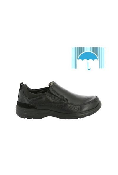 ScooterSu Geçirmez Deri Siyah Erkek Ayakkabı M3081FS