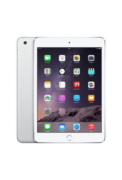 "Apple İpad Mini 4 128 Gb 7.9"" Wi-Fi+4G Gümüş Rengi Tablet Mk772tu/A"