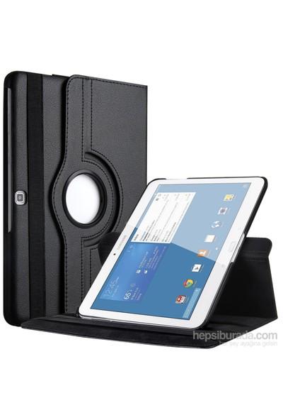 Romeca Samsung Galaxy Tab 4 10.1'' T530 360° Dönebilen Siyah Stand Kılıf