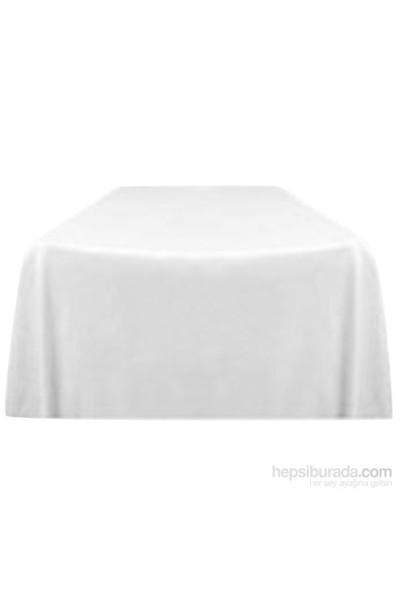 Clemensi Dekorluk Masa Örtüsü 150X260cm Beyaz