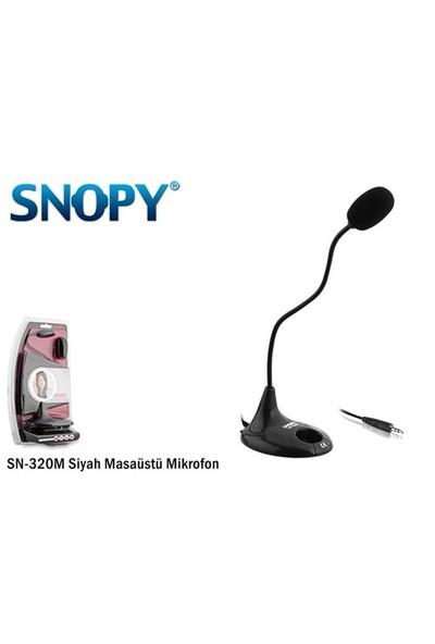 Snopy SN-320M Siyah Masaüstü Mikrofon (9008)