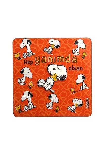 Snoopy Magnet 6.4Cm X 0.3Cm