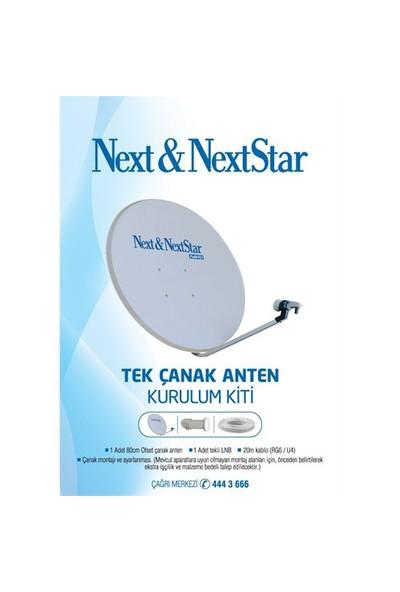 Next Tekli Çanak Anten Kurulum Seti