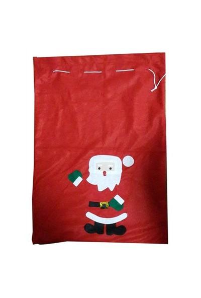 Noel Baba Çuvalı Noel Baba Desenli