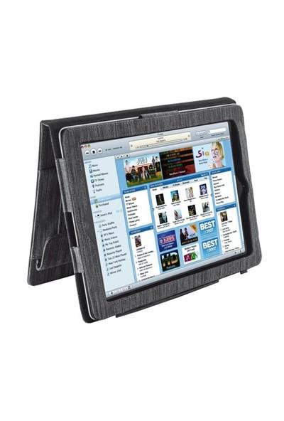 Trust 18522 iPad Deluxe Folio Gri Stand Tablet Kılıfı