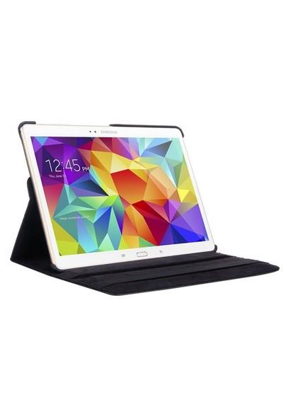 Romeca Tab S 10.5 T800 360 Derece Dönebilen Siyah Tablet Kılıfı