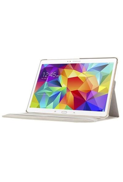 Romeca Tab S 10.5 T800 360 Derece Dönebilen Beyaz Tablet Kılıfı