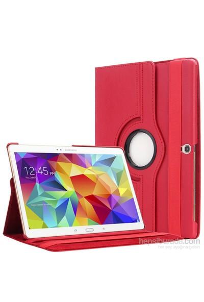 Romeca Tab S 10.5 T800 360 Derece Dönebilen Kırmızı Tablet Kılıfı