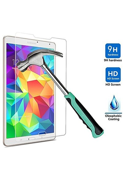 Ally Samsung Galaxy Tab S 8.4 T700 T705 Kırılmaz Cam Ekran Koruyucu