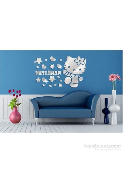 İsimli Hello Kitty Dekoratif Ayna