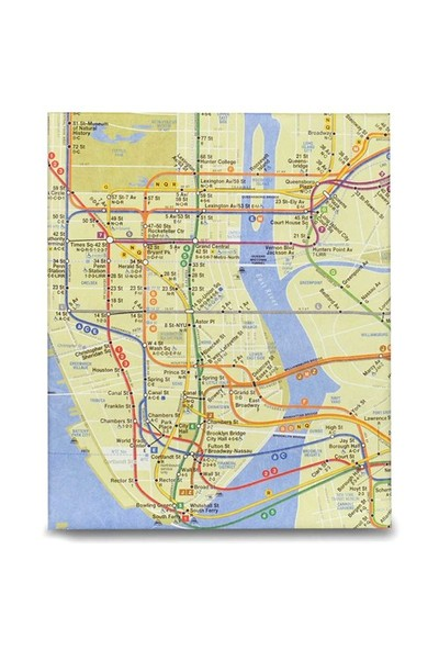 Dynomighty Tablet Pc & İpad Kılıfı - Nyc Subway Map