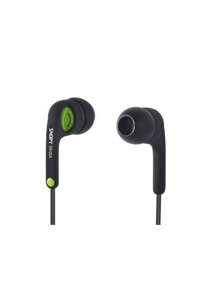 Snopy Sn-05A Siyah/Yeşil Kulaklık