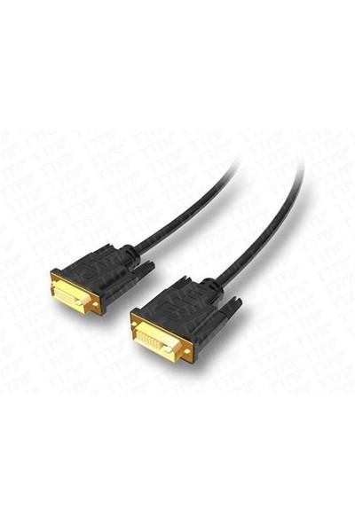 TTAF dvi - dvi Kablo Pvc (24K Gold) Prestij Serisi 2 Metre (85046)