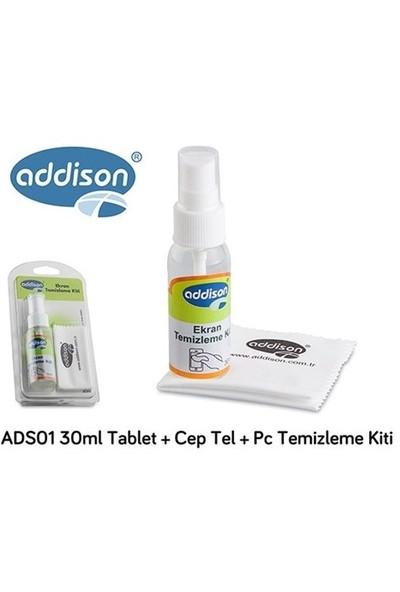 Addison Ads01 30Ml Tablet + Cep Tel + Pc Temizleme Kiti