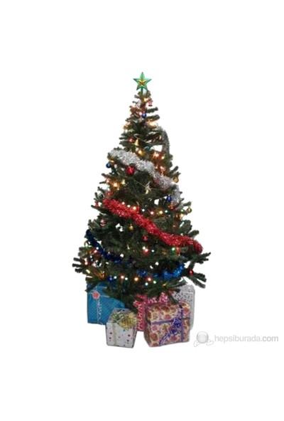 Puzmo Kutulu Yılbaşı Çam Ağacı ( 120 cm )