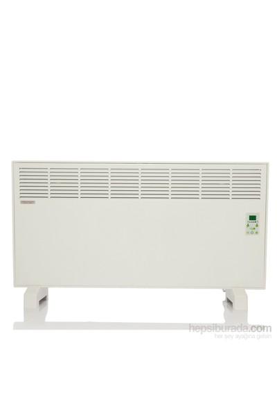 Vigo Elektrikli Panel Konvektör Isıtıcı Dijital 1500 Watt Beyaz Epk4570e13b