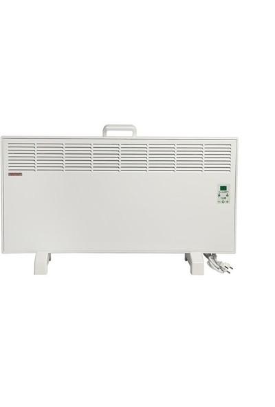 Vigo Elektrikli Panel Konvektör Isıtıcı Dijital 2500 Watt Beyaz Epk4590e25b