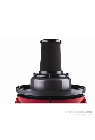 Stilevs Amiral Islak&Kuru Süpürge - Kırmızı-Siyah