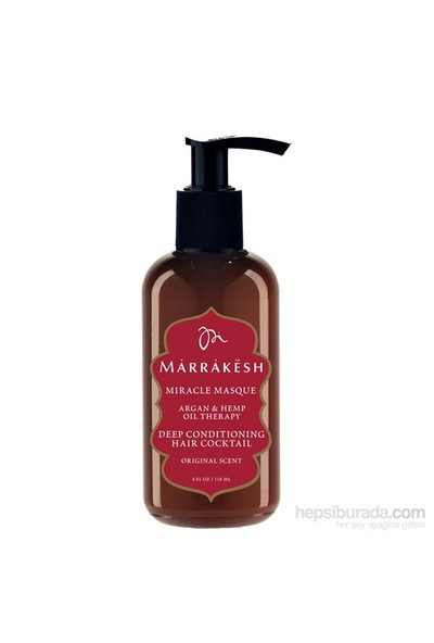 Marrakesh Miracle Masque - Nemlendirici Saç Maskesi 236 ML