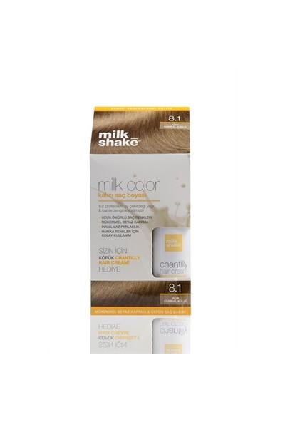 Milk Color Kalıcı Saç Boyası No: 8.1 Açık Kumral Küllü
